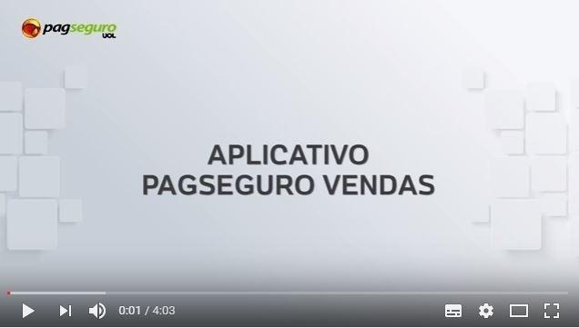 Aplicativo PagSeguro Vendas
